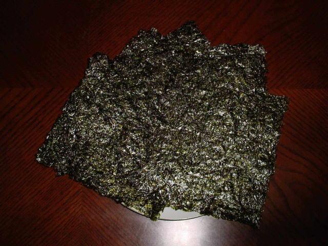 韓国海苔(味付)全形(20�p×20�p)